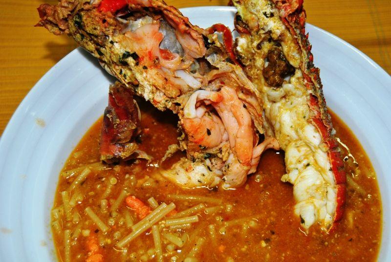 Spaghetto in Brodo di Aragosta